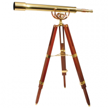 Kaukoputki Fine Brass 80/40