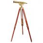Decorative telescope Fine Brass 2060
