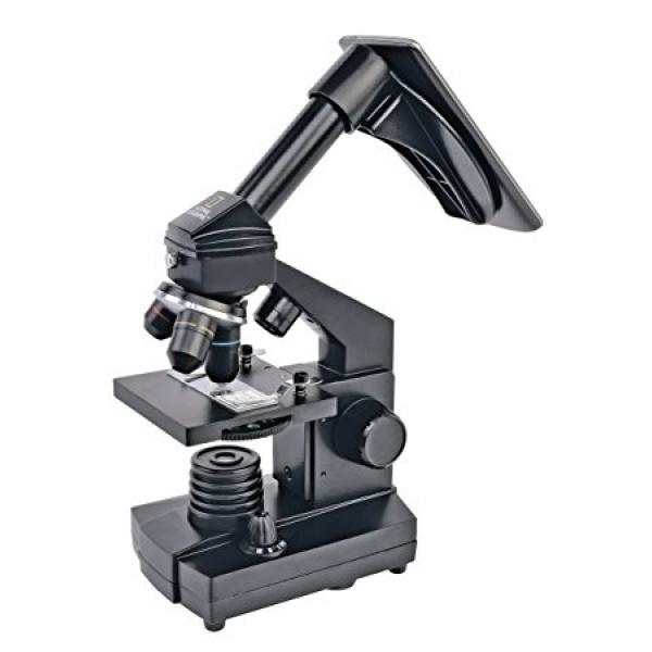 National Geographic 40-1280x mikroskops ar telefona statīvu