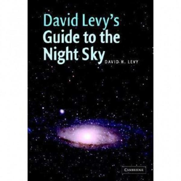 "Cambridge University Press David Levy ""Guide to the Night Sky"" grāmata"