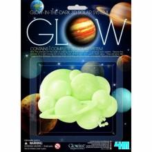 HCM Kinzel Glow 3D saules sistēmas spīdīgās formas
