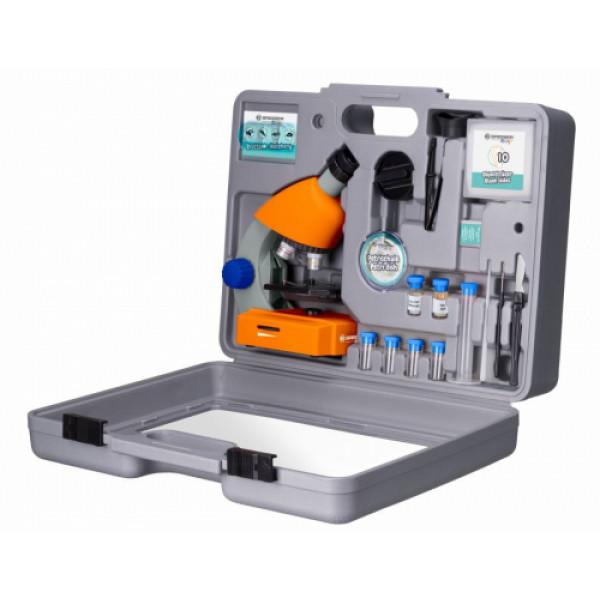Bresser Junior 40x-640x mikroskopa komplekts