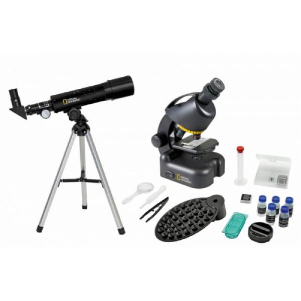 National Geographic Teleskopa un Mikroskopa komplekts