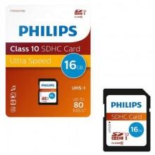 Philips SDHC Karte 16GB atmiņas karte