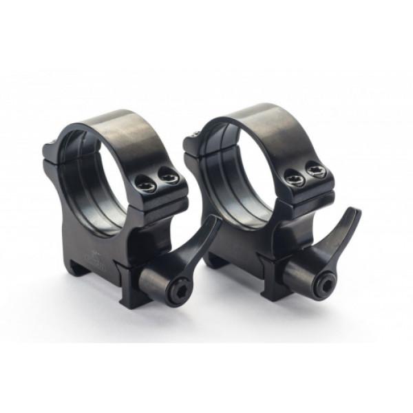 Rusan Weaver ātrā montējuma gredzeni 30mm, H17mm
